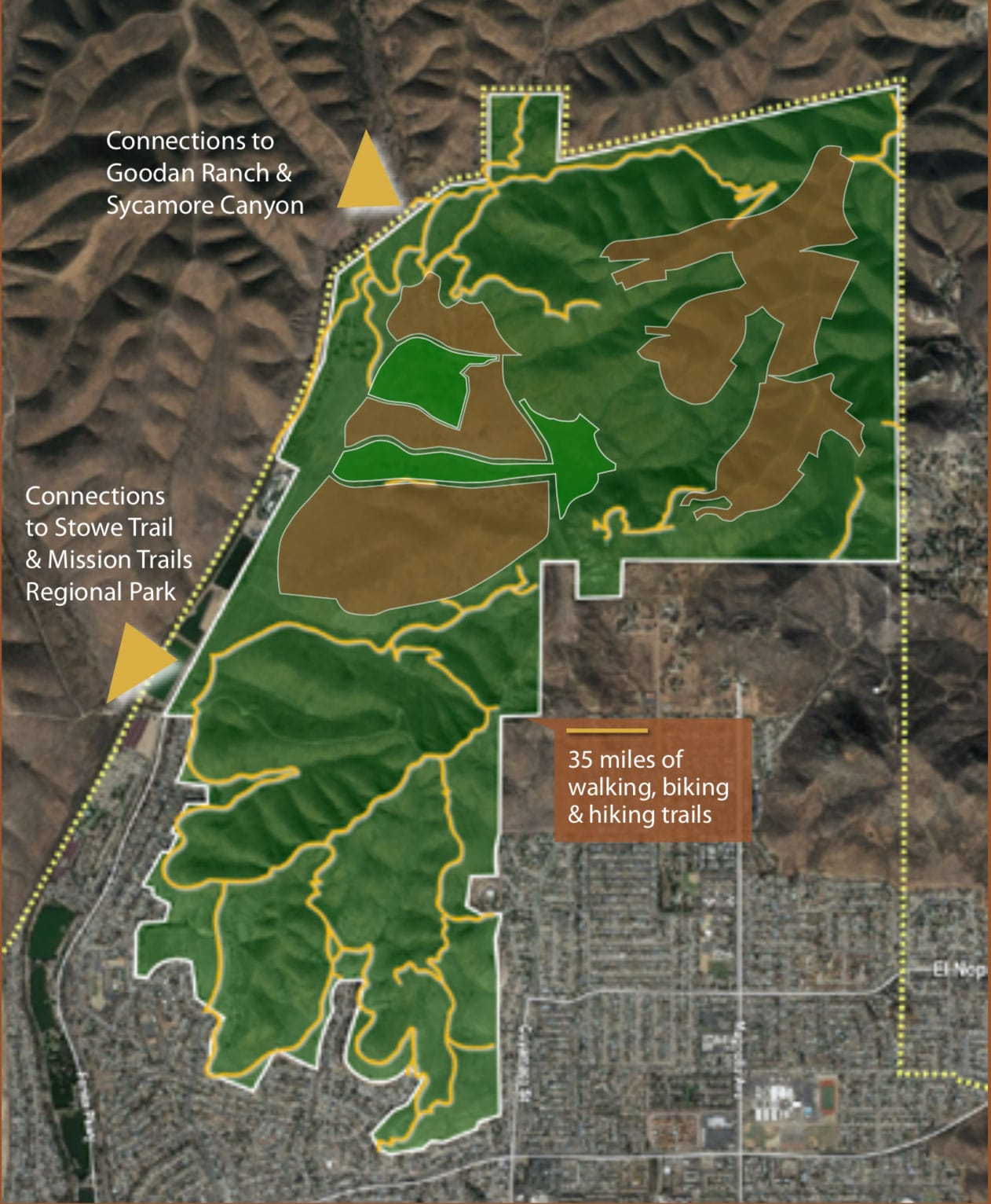Open Space, Protected Wildlife Habitat, Parks, Trails and Agriculture